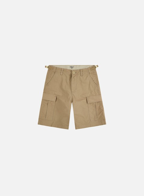 pantaloni carhartt aviation short leather rinsed