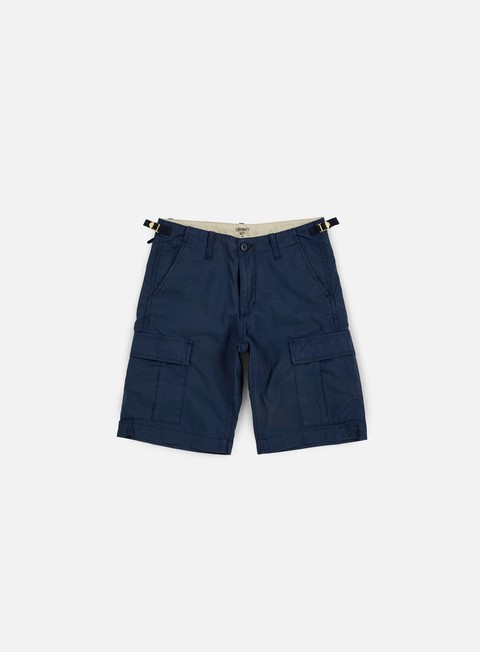 pantaloni carhartt aviation short navy rinsed