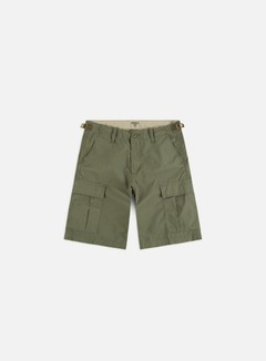 Carhartt - Aviation Shorts, Dollar Green Rinsed