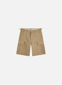 Carhartt - Aviation Shorts, Leather Rinsed