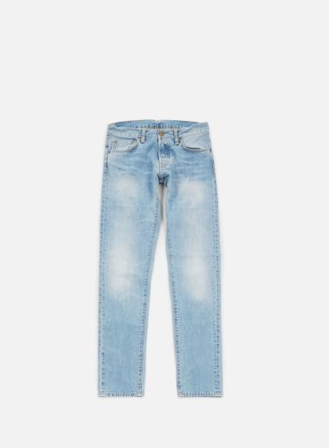 pantaloni carhartt buccaneer pant blue burst washed