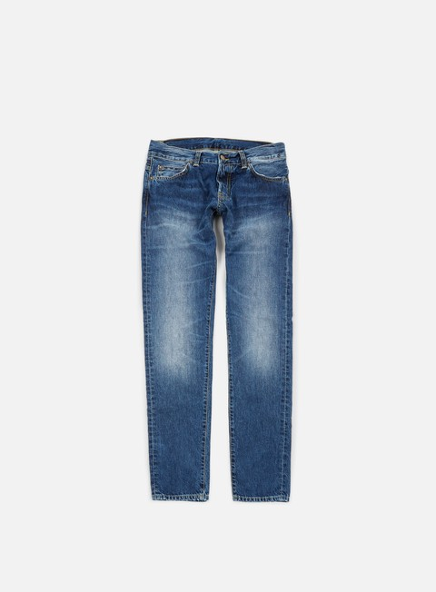 pantaloni carhartt buccaneer pant blue gravel washed