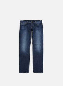 Carhartt - Buccaneer Pant, Blue Natural Dark Wash