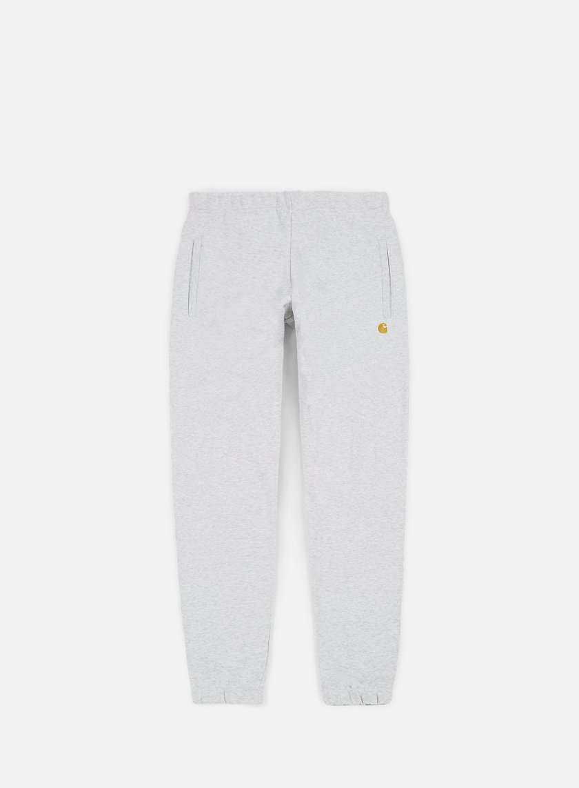 Carhartt - Chase Sweat Pant, Ash Heather/Gold