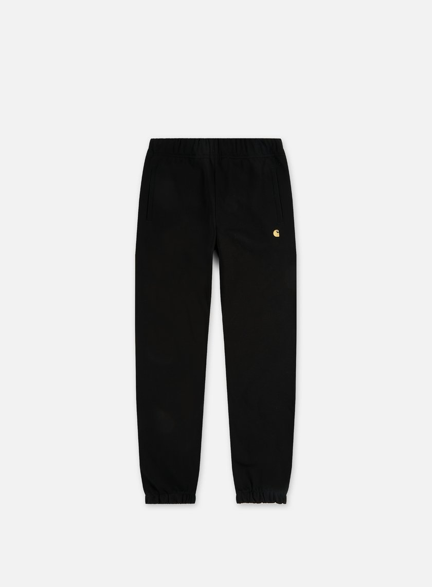 Carhartt - Chase Sweat Pant, Black/Gold