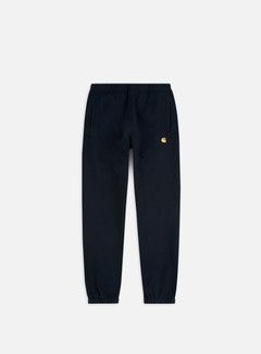 Carhartt - Chase Sweat Pant, Dark Navy/Gold 1