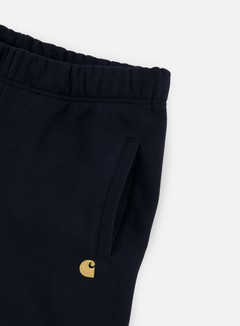 Carhartt - Chase Sweat Pant, Dark Navy/Gold 4