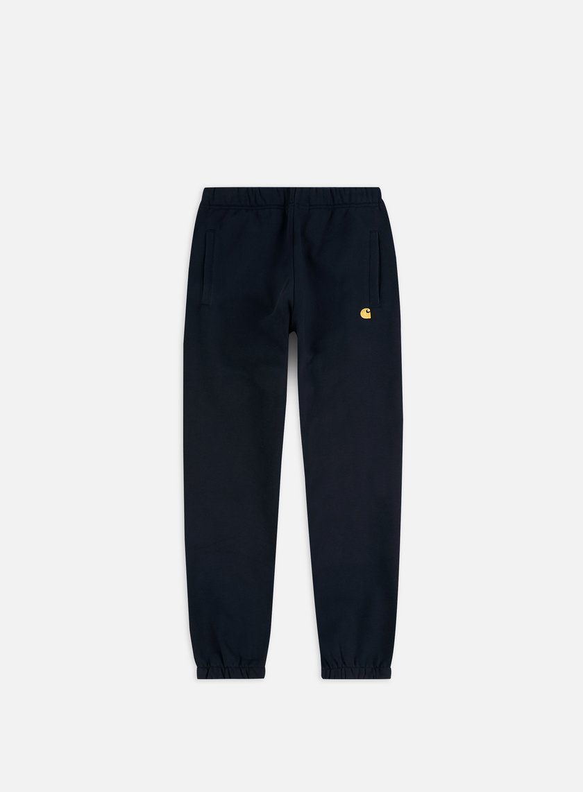 Carhartt - Chase Sweat Pant, Dark Navy/Gold