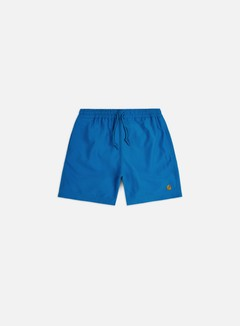 Carhartt - Chase Swim Trunks, Azzuro/Gold