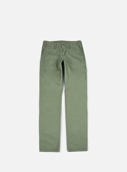 pantaloni carhartt club pant dollar green