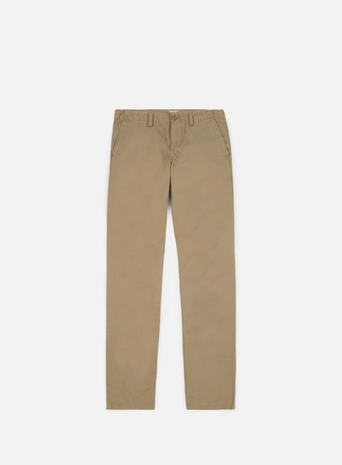 pantaloni carhartt club pant leather rinsed