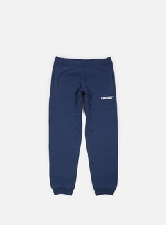 Carhartt - College Sweat Pant, Blue/White