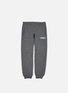 Carhartt - College Sweat Pant, Dark Grey Heather/White 1