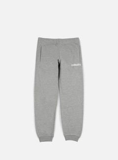 Carhartt - College Sweat Pant, Grey Heather/White