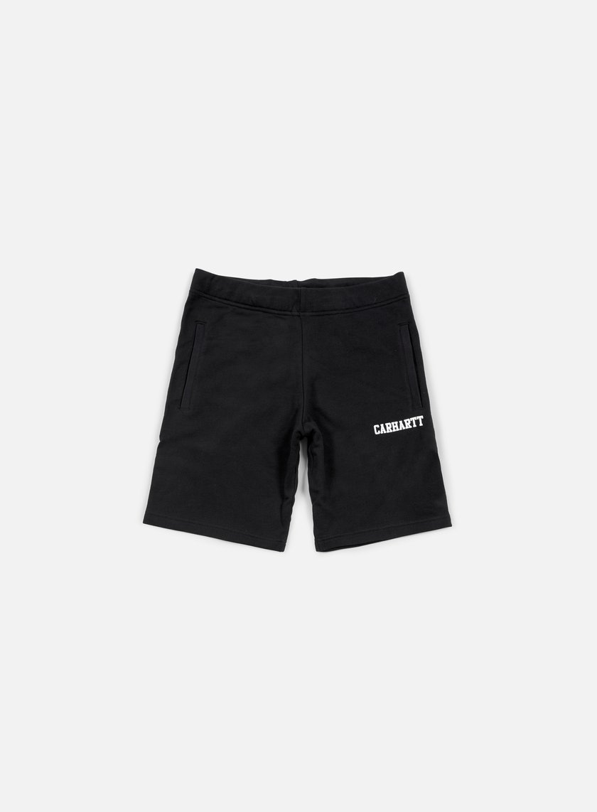 Carhartt - College Sweat Short, Black/White
