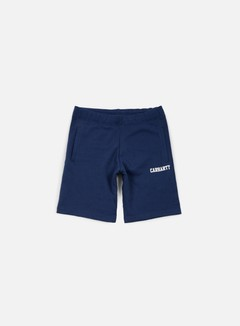 Carhartt - College Sweat Short, Blue/White
