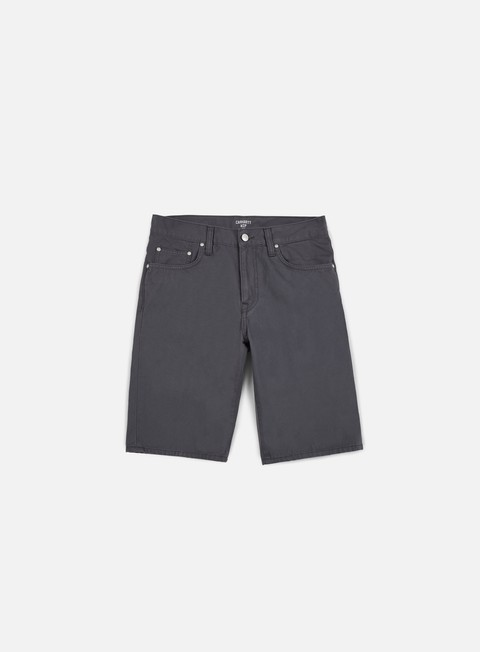 pantaloni carhartt davies short blacksmith rinsed