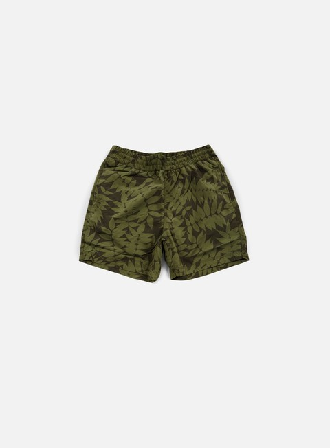 pantaloni carhartt drift swim trunk heaven leaf print
