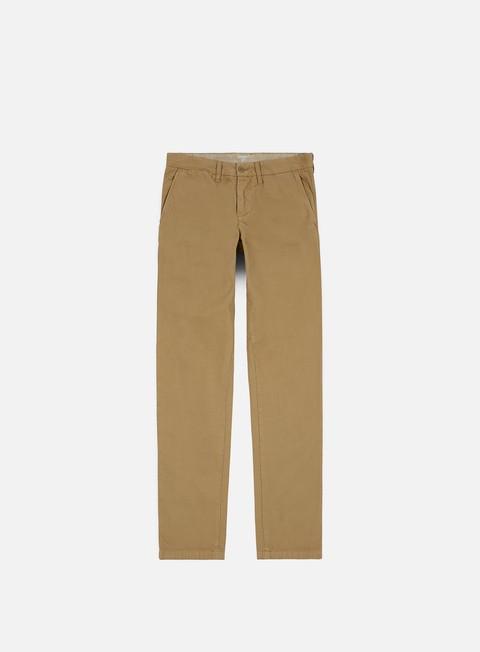 pantaloni carhartt johnson pant leather