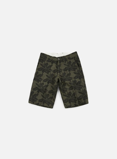 pantaloni carhartt johnson short ghetto palm