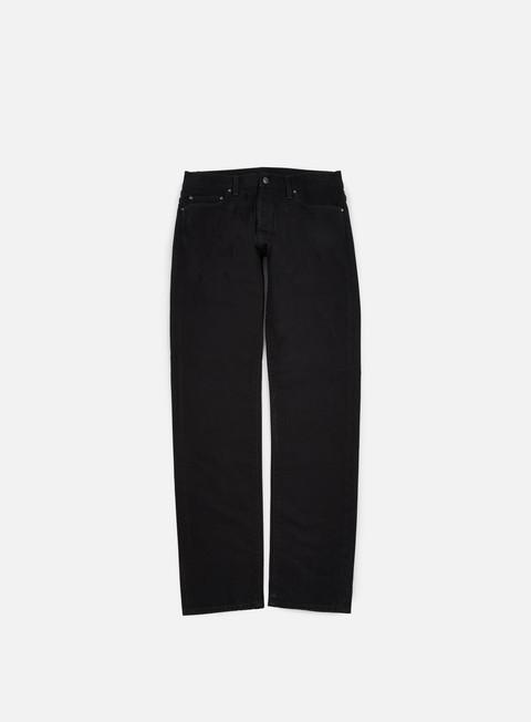 pantaloni carhartt klondike pant black stone washed
