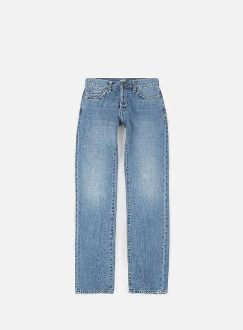 pantaloni carhartt klondike pant blue coast bleached
