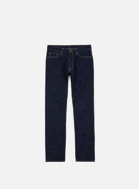pantaloni carhartt klondike pant blue rinsed