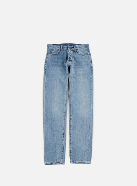 pantaloni carhartt klondike pant blue true bleached
