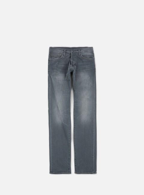 pantaloni carhartt klondike pant grey gravel washed