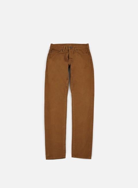pantaloni carhartt klondike pant hamilton brown stone washed