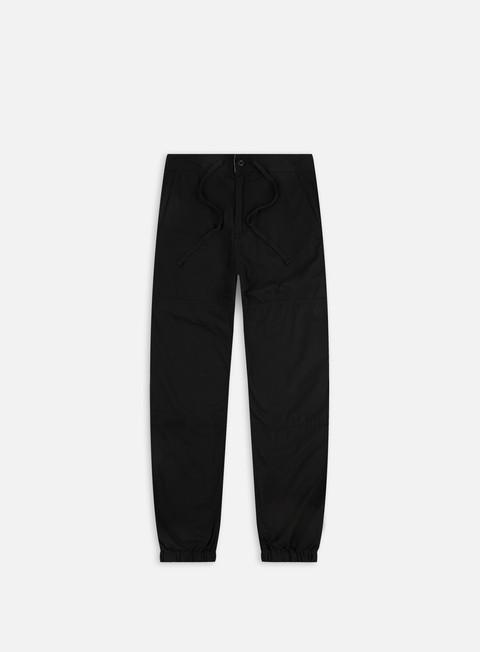 pantaloni carhartt marshall jogger pant black rinsed