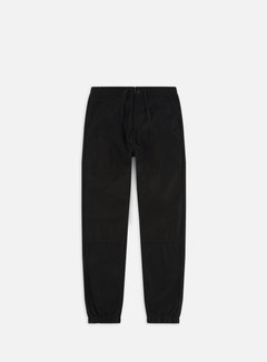 Carhartt - Marshall Jogger Pant, Black/Stone Washed