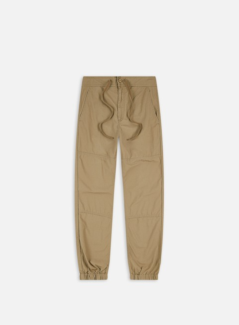 pantaloni carhartt marshall jogger pant leather rinsed