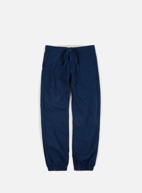 pantaloni carhartt marshall jogger pant navy rinsed