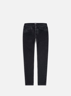 Carhartt - Newel Pant, Black Stone Washed