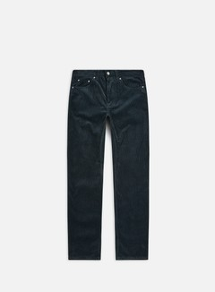 Carhartt - Newel Pant, Dark Teal Rinsed