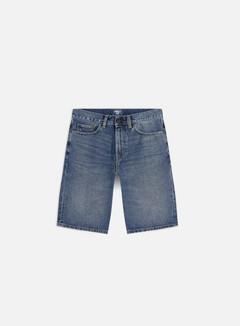 Carhartt - Pontiac Shorts, Blue Mid Worn Wash