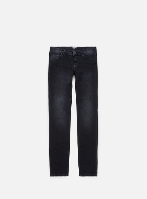 pantaloni carhartt rebel pant black fettle washed