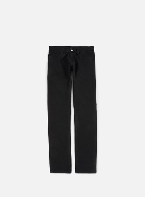 pantaloni carhartt rebel pant black rinsed