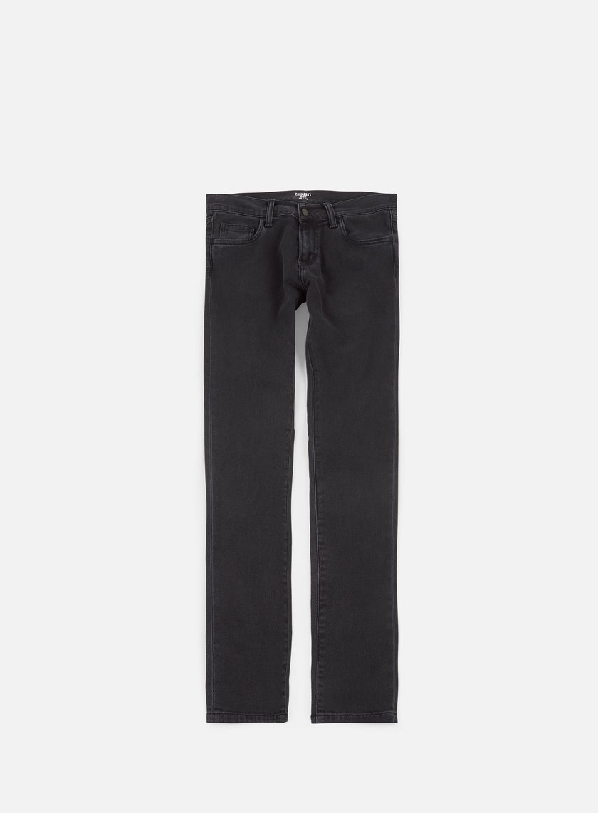 Carhartt - Rebel Pant, Black Stone Washed