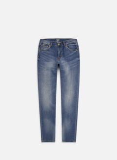Carhartt - Rebel Pant, Blue Mid Used Wash