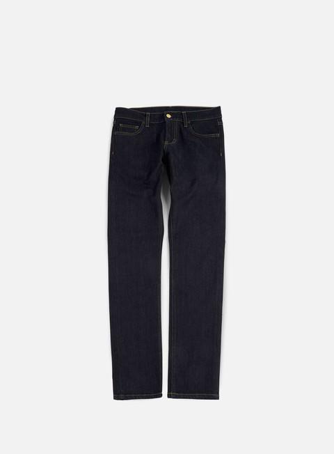 pantaloni carhartt rebel pant blue rinsed