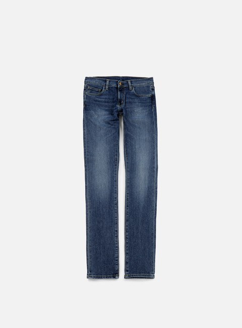 pantaloni carhartt rebel pant blue rope washed