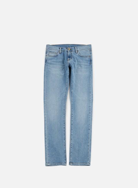 pantaloni carhartt rebel pant blue true bleached
