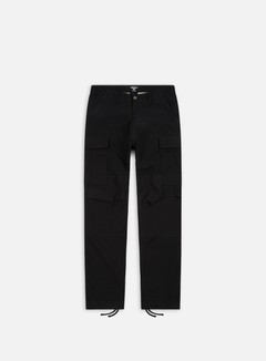 Carhartt - Regular Cargo Pant, Black Rinsed