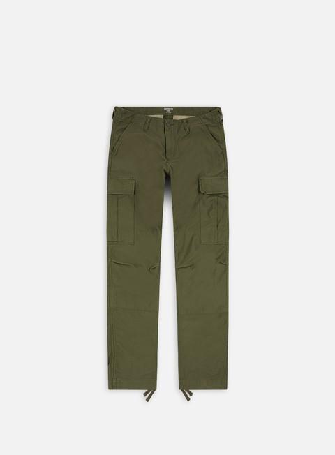 pantaloni carhartt regular cargo pant rover green