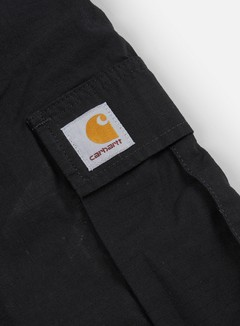 Carhartt - Regular Cargo Short, Black Rinsed 5