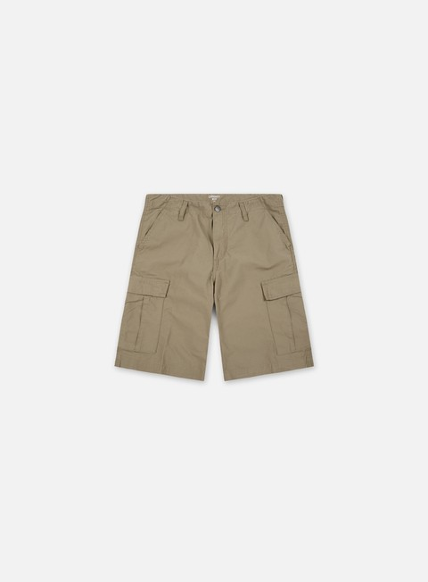 pantaloni carhartt regular cargo short leather rinsed