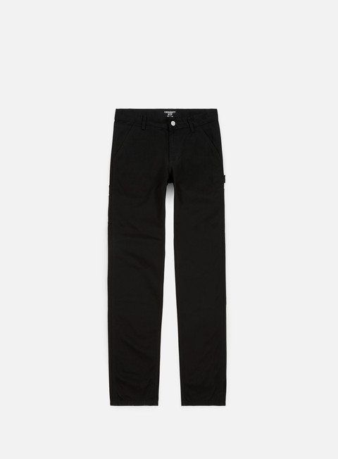 pantaloni carhartt ruck single knee pant black