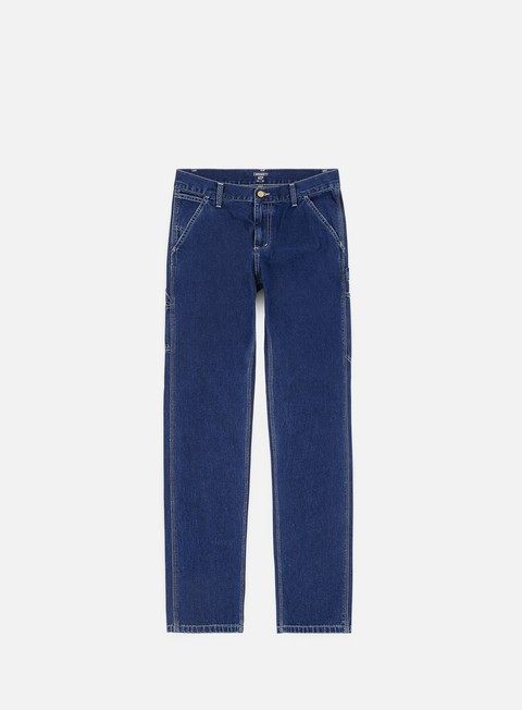 pantaloni carhartt ruck single knee pant blue